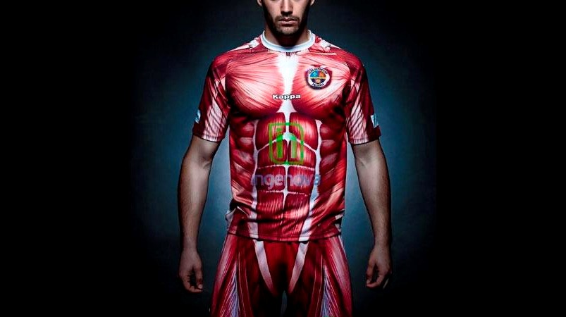Club Deportivo Palencia muscle voetbalshirt